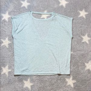 Forever 21 cut back tee
